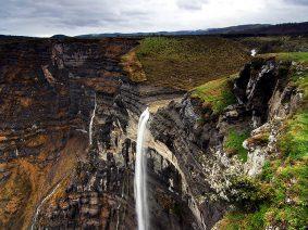 Salto del Nervión, el salto de agua más grande de la Península Ibérica.