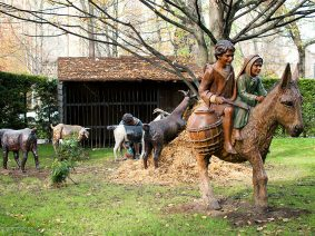 Traditional nativity scenes in Vitoria-Gasteiz